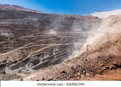 Chuquicamata, world's biggest open pit copper mine, Calama, Chile