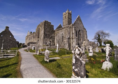 church abbey grave yard