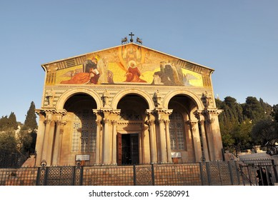 The Church of All Nations, Mount of Olives, Jerusalem