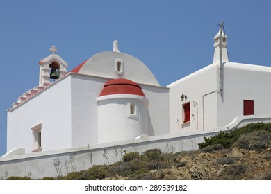 church in Analipsi on the island of Astypalea, Greece