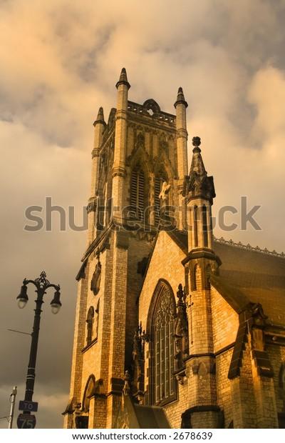 Church, ancient architecture