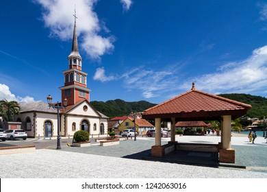church in Anses-d-arlert, Martinique