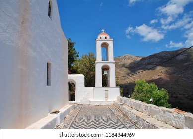The Church of Archangel Michael at Megalo Chorio on the Greek island of Tilos.
