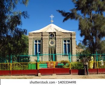 The church with the ark of the Covenant, Ethiopia