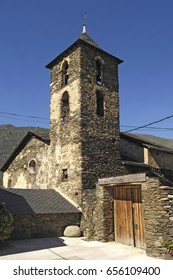 Church of Arros de Cardos in the Cardos Vallery, Pallars Sobira, Lleida province, Catalonia, Spain