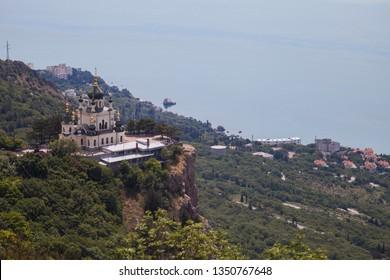 Church of the ascension in Crimea