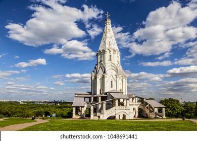 The Church of the Ascension in Kolomenskoye, Moscow, Russia