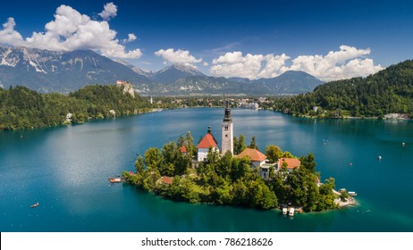 Church of the Assumption, Bled, Slovenia