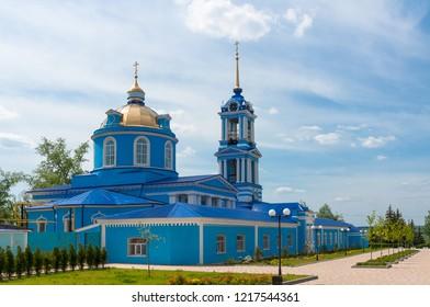 Church of Assumption of Blessed Virgin, Assumption Church (1800) , Zadonsk, Lipetsk Oblast, Russia