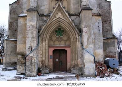 Church of the Assumption Heart of Jesus in Chernivtsi, Ukraine