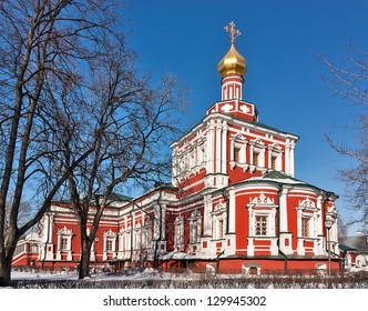 Church of the Assumption. Novodevichy Convent is probably the best-known cloister of Moscow.