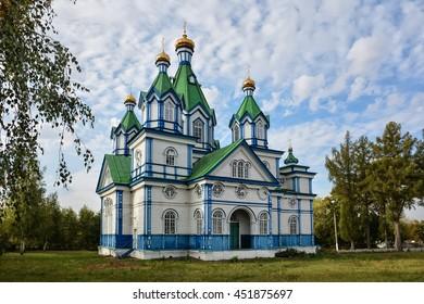 Church of the Assumption. Sylchenkove, Chernihivs'ka oblast, Ukraine.