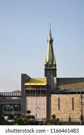 Church of Assumption of Virgin Mary in Usti nad Labem. Czech Republic