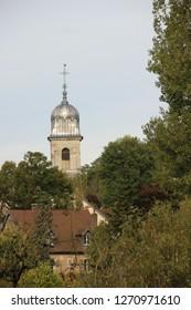 Church in Avanne, Franche Comté, France