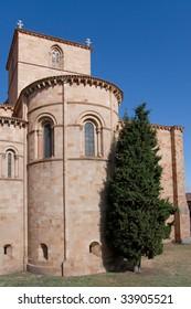 Church in Avila, Castilla y Leon (Spain)