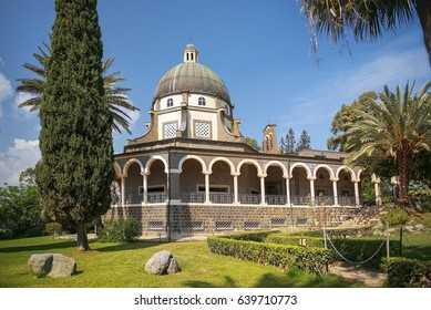 Church of the Beatitudes, roman catholic church located by Sea of Galilee near Tabgha and Capernaum at the Mount of Beatitudes, where Jesus is believed to have delivered the Sermon on the Mount Israel