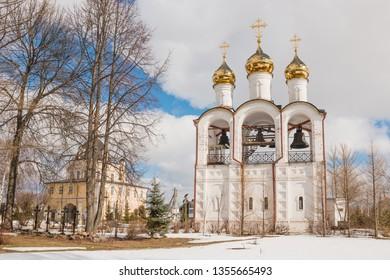 Church of the beheading of John the Baptist in St. Nicholas monastery, Pereslavl-Zalessky, Yaroslavl region, Russia
