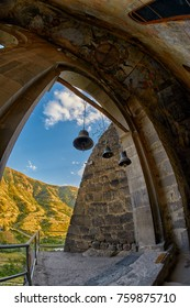 Church Bells in Cave Monastery of Vardzia in Georgia