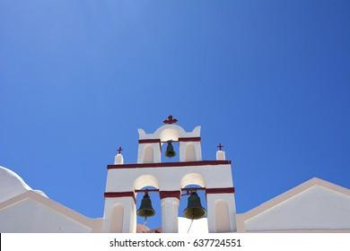 Church bells of Santorini