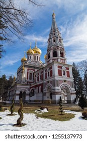 The church the Birth of Christ, in Shipka town, Bulgaria
