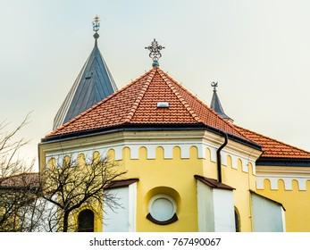 Church of the Birth of Virgin Mary in Trencin, Slovakia