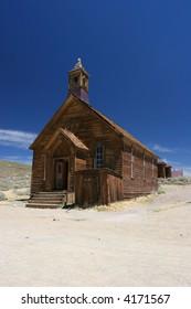 Church in Bodie, Ghost Town, California