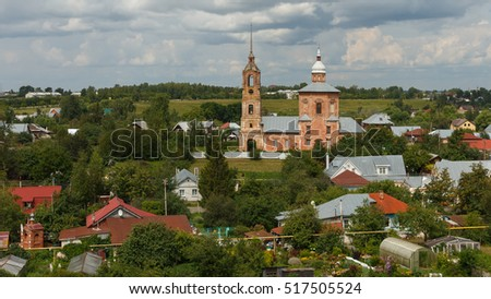 The Church of Boris and Gleb in Suzdal