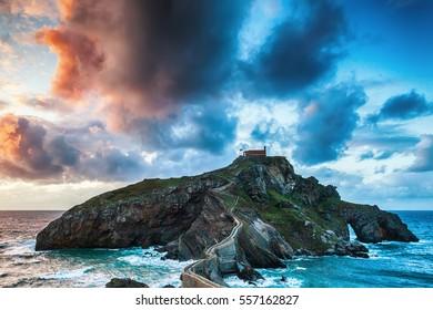 Church by the ocean
