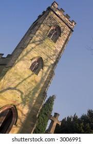 Church At Calke Abbey, Derbyshire, England