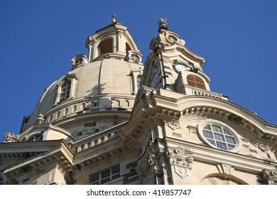 church called Dresden Frauenkirche in Germany