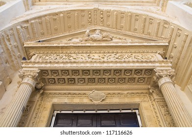 Church of Carmine. Nard���². Puglia. Italy.