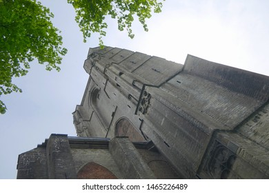 church cathedral in Veere, Netherlands