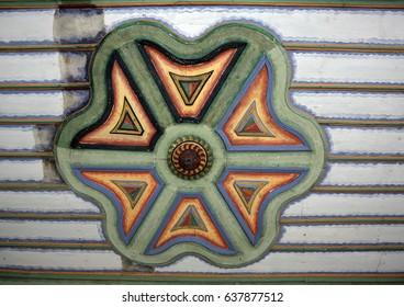 church ceiling ornament