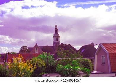 Church centre Nijkerk, Holland