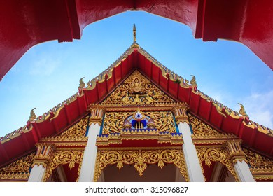 Church of chalang temple in phuket.