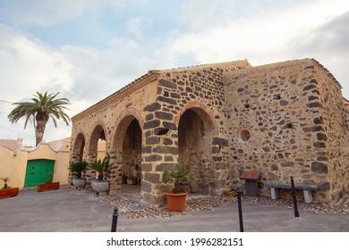 Church Chiesa di San Sebastiano, Orosei, Sardinia
