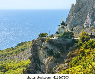 The Church of Christ's Resurrection near Foros in Crimea