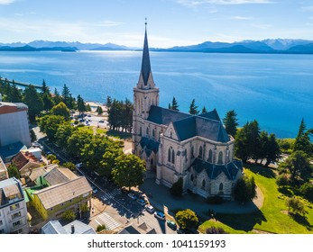 Church in the city of Bariloche. Argentina