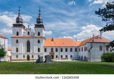 Church in city Trebic.