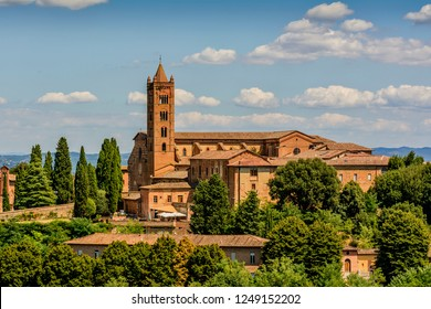 the church of a contrade in Siena, Toscany, Italy