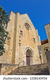 Church of Convent de Sant Domenec de Girona in Girona, Catalonia, Spain.