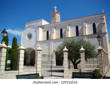 Church and convent of Santa Clara in old town of Ciutadella, Menorca, Spain
