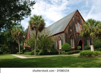 Church of The Cross in Historic Bluffton area of Hilton Head, South Carolina