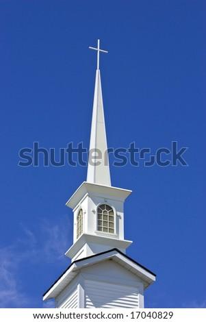 church cross tower