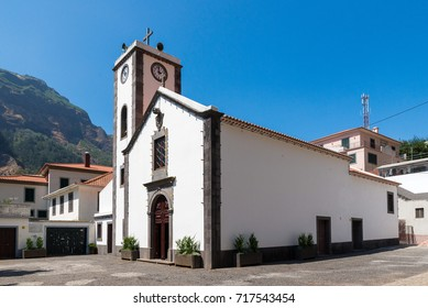 Church of Curral das Freiras, on the island of Madeira, Portugal