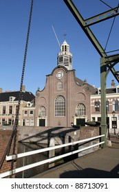 Church in Delfshaven, now part of Rotterdam, where the Pilgrim Fathers attended the last service before shipping to America.
