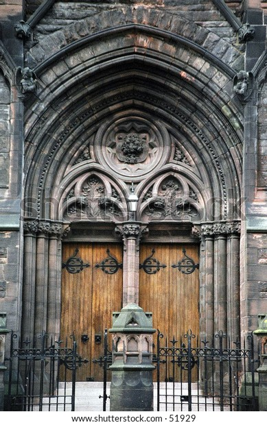 church doors, Glasgow