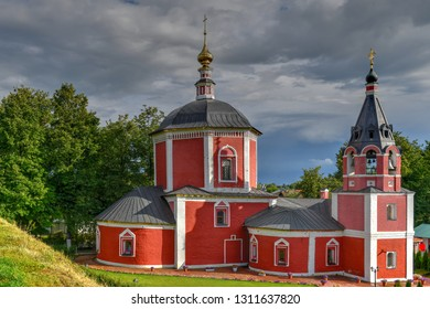 Church of Dormition of the Theotokos in Suzdal, Russia