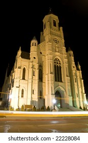 Church in Downtown Canton Ohio
