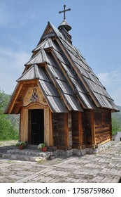 Church in Drvengrad Ethno Village, Serbia